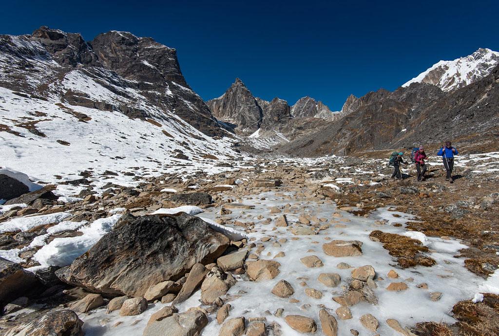 Everest base camp with Cho-la pass Trek