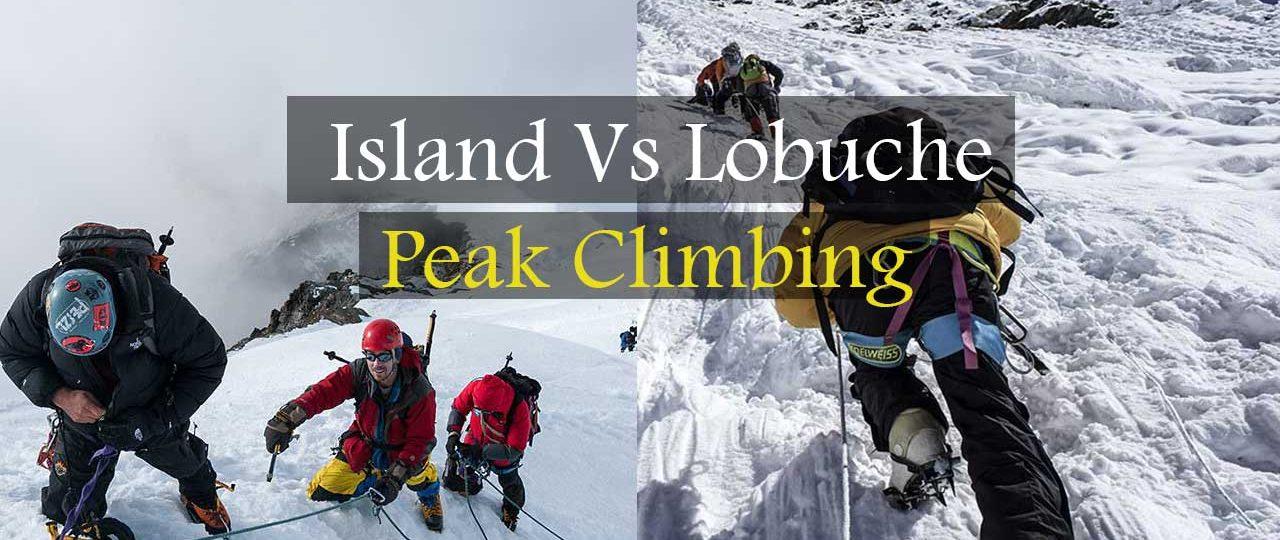 Lobuche East vs Island Peak
