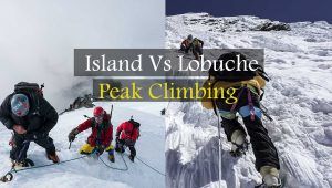 Lobuche East vs Island Peak