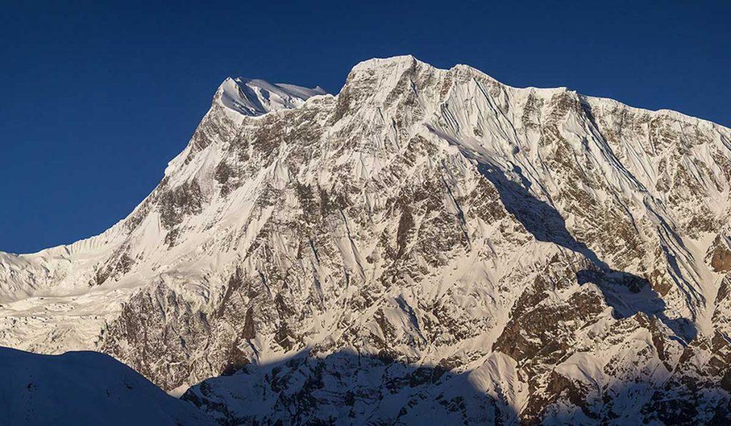 Gangapurna Peak In Nepal