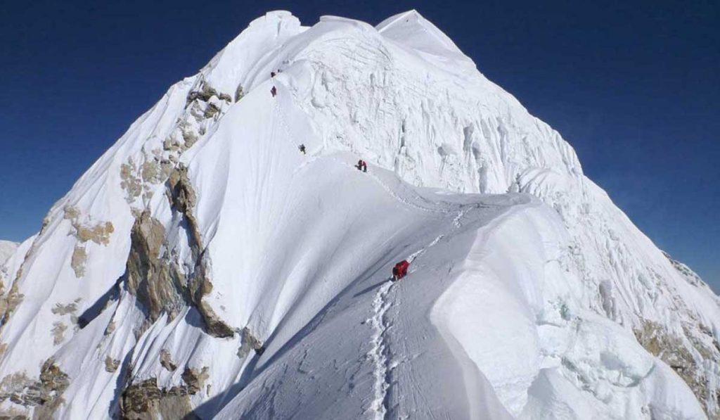 Himlung Expedition In Nepal