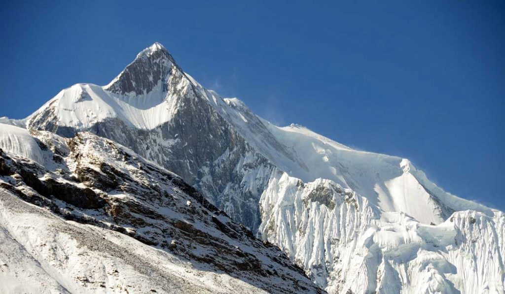 Khangsar Kang Peak IN Nepal